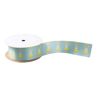 The Easter Bunny I Satin Ribbon