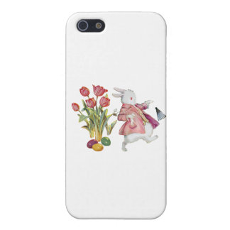 The Easter Bunny Runs Away iPhone 5 Covers