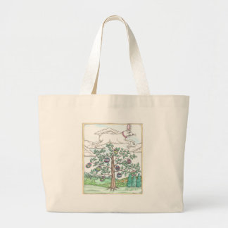 The Easter Egg Tree Canvas Bag