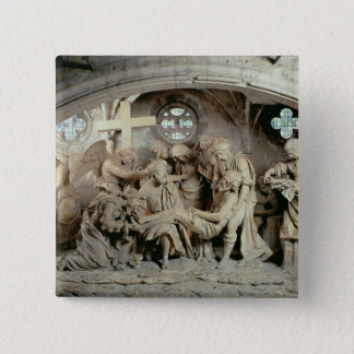 The Easter Sepulchre, 1554-64 (stone) 15 Cm Square Badge