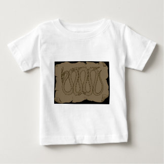 The Eastern Dragon Ancient Scroll Shirts