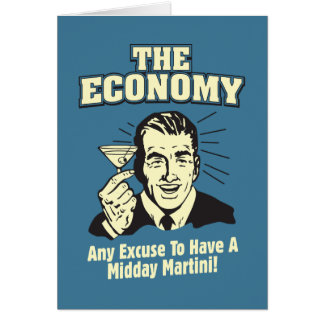 The Economy: Midday Martini Card