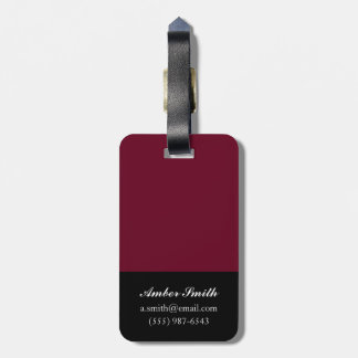 The Edge of the World 2014 Luggage Tag