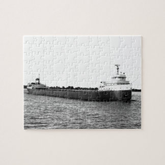 The Edmund Fitzgerald on the St. Clair River Jigsaw Puzzle