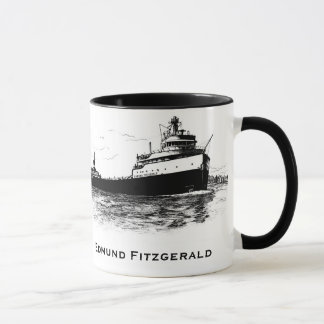 The Edmund Fitzgerald on the St. Clair River Mug