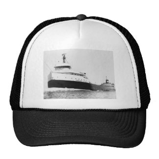 The Edmund Fitzgerald Vintage Great Lakes Ship Hat