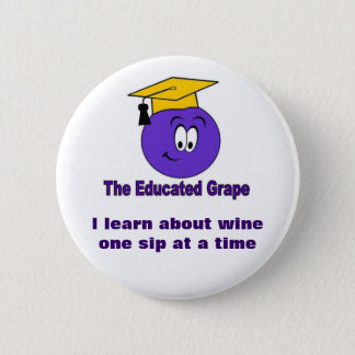 The Educated Grape Pin