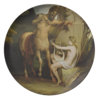 The Education of Achilles, c.1772 (oil on canvas) Plate