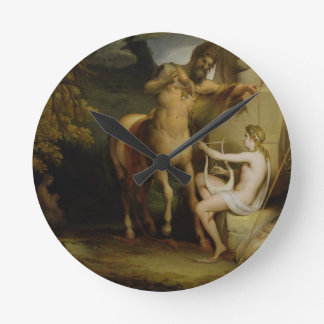 The Education of Achilles, c.1772 (oil on canvas) Wall Clocks