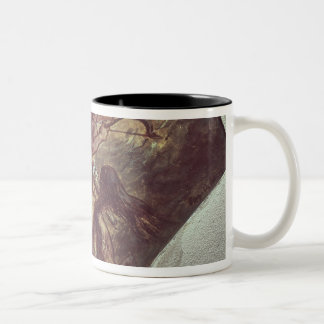 The Education of Achilles Two-Tone Coffee Mug