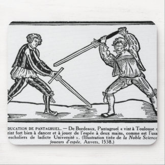 The Education of Pantagruel, illustration Mouse Mat