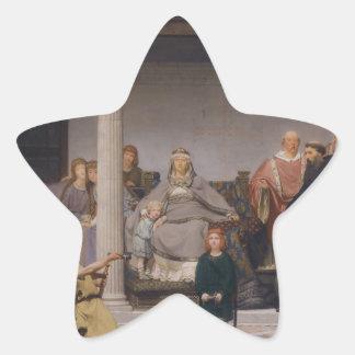 The Education of the Children of Clovis Star Sticker