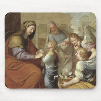 The Education of the Virgin, 1658 Mouse Mat