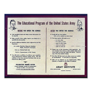 The Education Program Of The United States Army Custom Invitation
