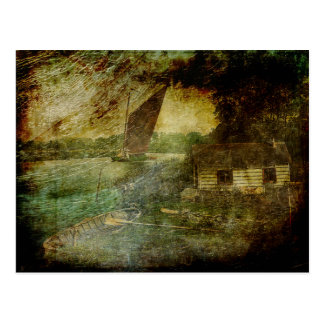 The Eel Fisher's Hut Postcard