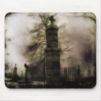 The Eerie Gate Mouse Mat