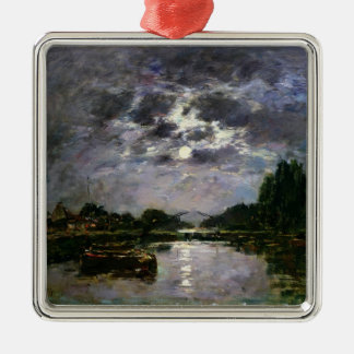 The Effect of the Moon, 1891 (oil on canvas) Christmas Ornament