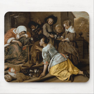 The Effects of Intemperance, c.1663-65 Mouse Pad