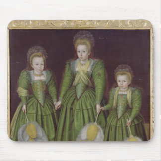 The Egerton Sisters, 1601/02 Mouse Mat