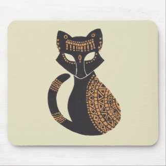 The Egyptian Cat Mouse Pad