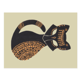 The Egyptian Cat Postcard