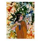 The Egyptian Enchantress by Michael Moffa Postcard