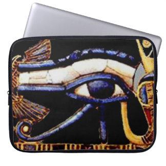 The Egyptian Eye of Horus Computer Sleeve
