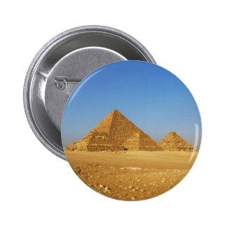 The Egyptian pyramids Pinback Button