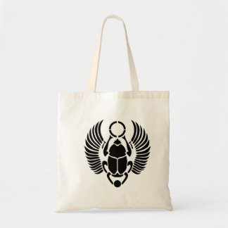 The Egyptian Scarab Beetle Tote Budget Tote Bag
