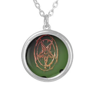 The Egyptian Symbol Of Good Luck Round Pendant Necklace