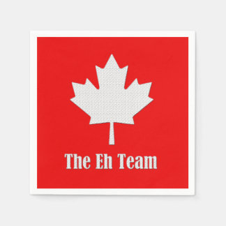 The Eh Team Canada Day Party Paper Napkins