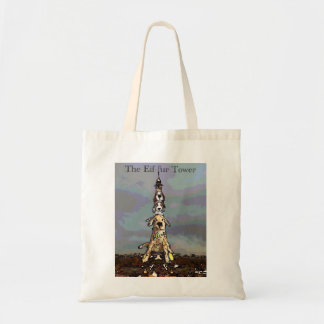 The Eif-fur Tower Tote Bag