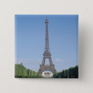 The Eiffel Tower 15 Cm Square Badge