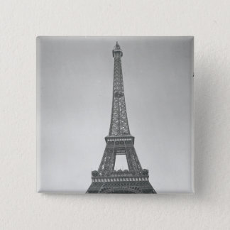The Eiffel Tower, 1887-89 15 Cm Square Badge