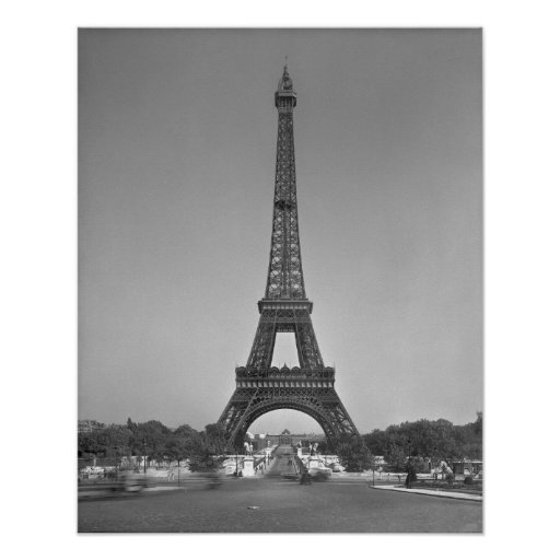 The Eiffel tower, 1887-89 Poster