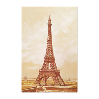 The Eiffel Tower, 1889 Canvas Print