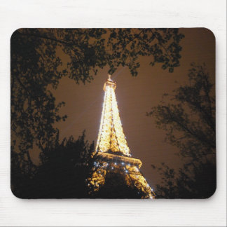The Eiffel Tower at Night Mouse Mat