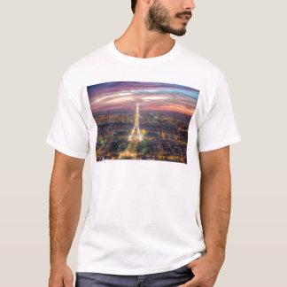 The Eiffel Tower at night, Paris France T-Shirt