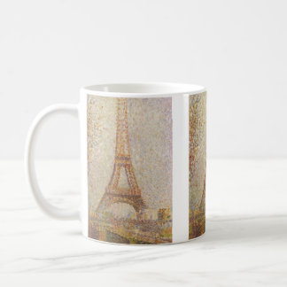 The Eiffel Tower by Georges Seurat Coffee Mug