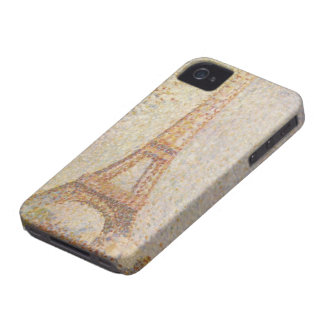 The Eiffel Tower by Georges Seurat iPhone 4 Case-Mate Case