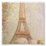 The Eiffel Tower by Georges Seurat Photo Art