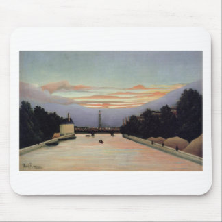 The Eiffel Tower by Henri Rousseau Mouse Pad