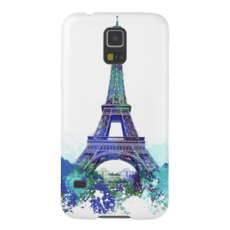 The Eiffel  tower color splash Galaxy S5 Cover
