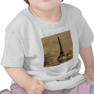 The Eiffel Tower from the Seine Paris Exposition Tees