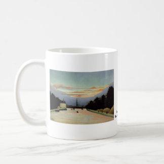 The Eiffel Tower Henri Rousseau 1898 Basic White Mug