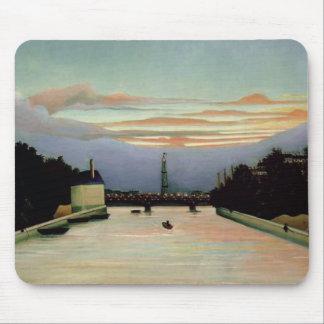 The Eiffel Tower Henri Rousseau 1898 Mouse Pad