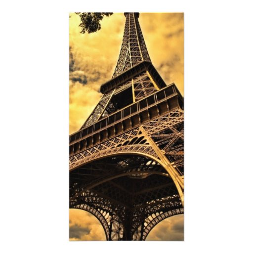 The Eiffel tower in Paris France Photo Greeting Card