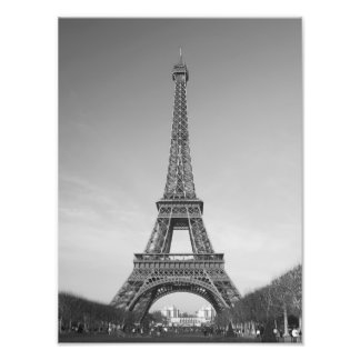 The Eiffel Tower in Paris France Print
