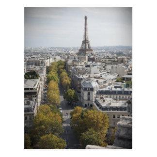 The Eiffel Tower in Paris La Tour Eiffel Post Card