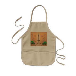 The Eiffel Tower Kids Apron